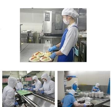 地域を支える調理の仕事です。業務拡大につき、スタッフを募集します!